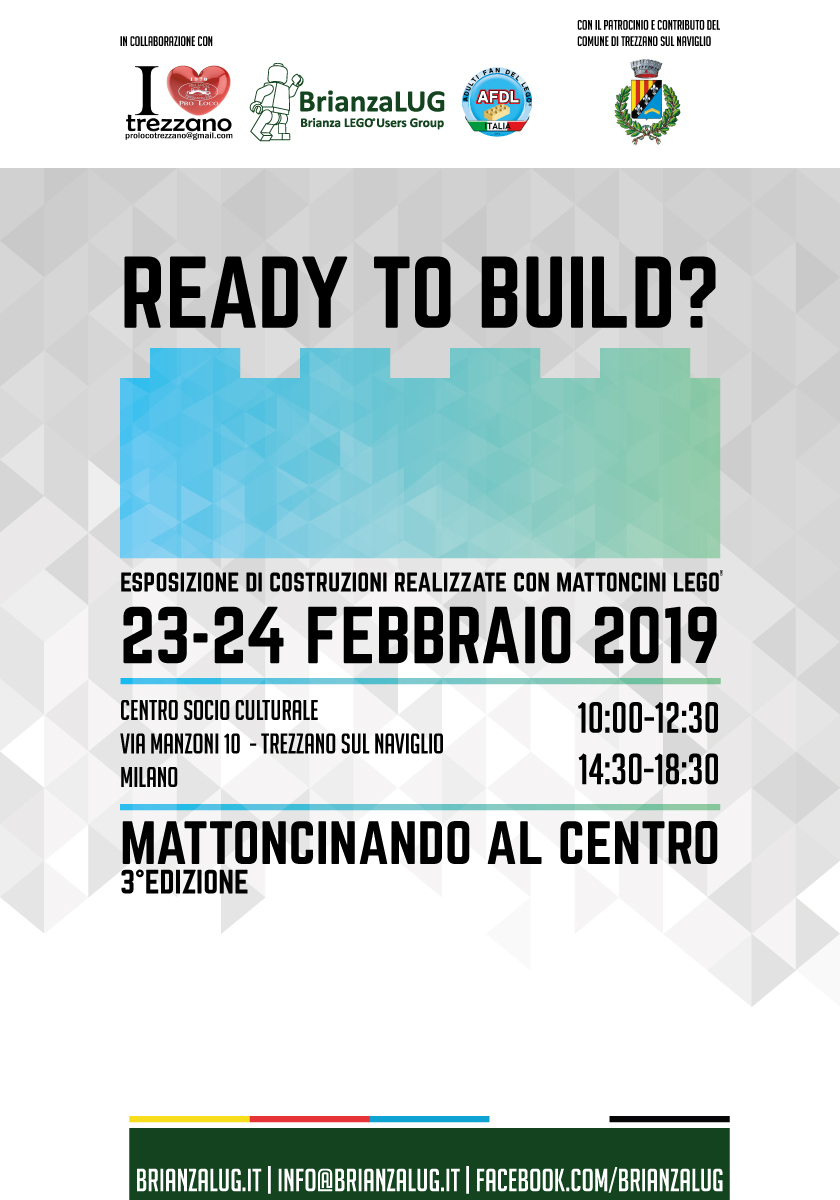 """Ready to build"" Mattoncinando al Centro (3^ edizione)"